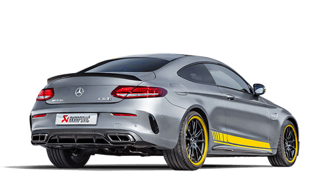 MERCEDES-BENZ C63 AMG Coupe C205 2016y-