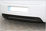 3006061/2 Carbon-Cover for rearbumper