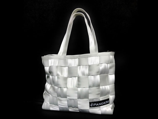 PANDEM HARNESS STRING BAG WHITE