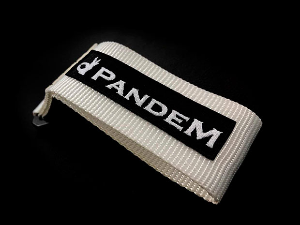 PANDEM TOW STRAP WHITE