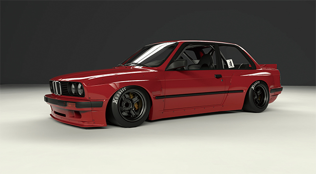 E30 Wide body kit