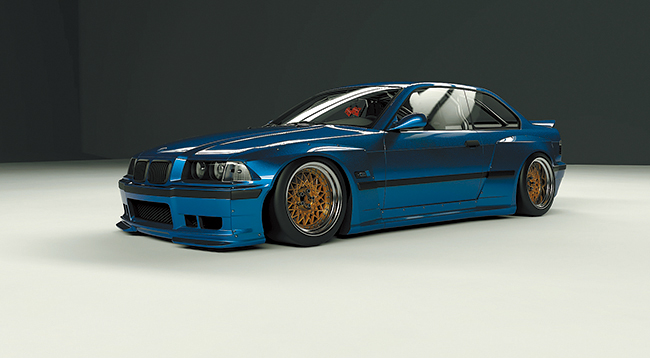 E36 Wide body kit
