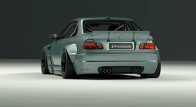 E46 Wide body kit