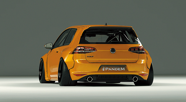 GOLF MK7 2door Wide body kit