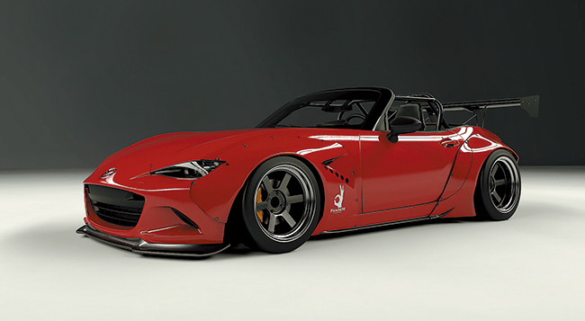 MX-5 Wide body kit