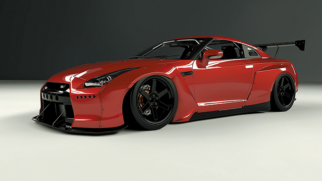 R35 GTR Wide body kit (GT Wing)