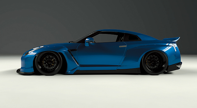 R35 GTR Wide body kit (Duck Tail)