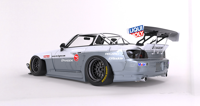 HONDA S2000 Wide body kit