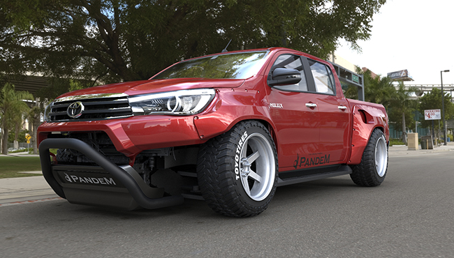 TOYOTA HILUX Wide body kit
