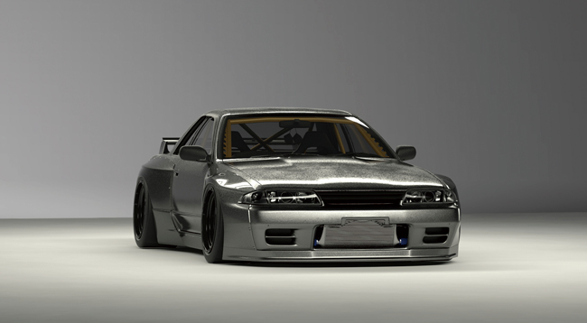 R32 GTR Wide body kit