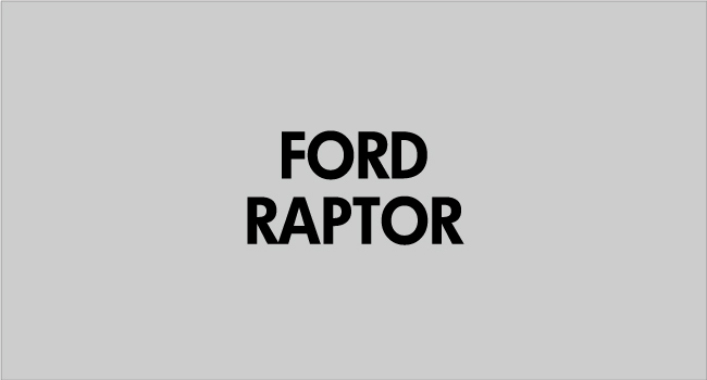 FORD RAPTOR WIDE BODY KIT