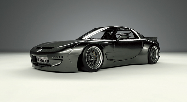 FD3S RX-7 body kit