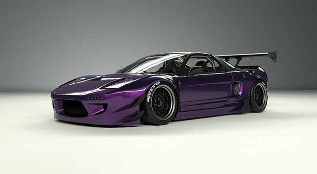 NSX body kit