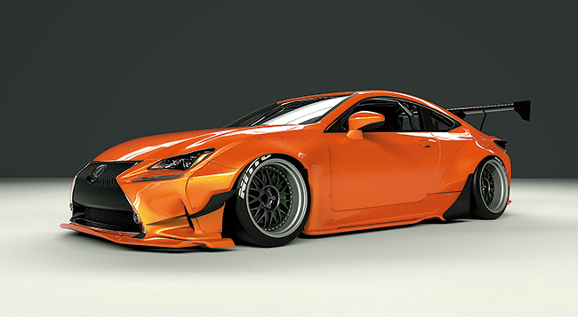 LEXUS RC-F body kit