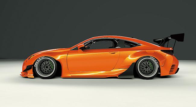 Pandem Lexus Rc F Wide Body Kit 橋本コーポレーション Hashimoto