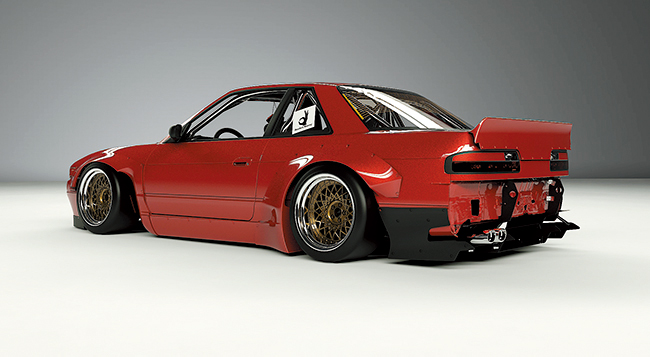 S13 Silvia/240sx V2 body kit